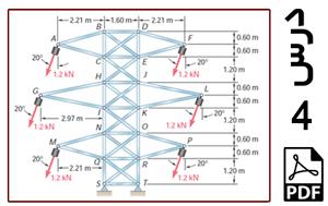 تحلیل استاتیکی خرپای خطوط انتقال نیرو-PDF