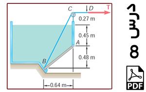تحلیل استاتیکی دریچه واقع در دیواره یک مخزن پر آب تحت فشار هیدرواستاتیکی-PDF