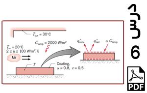 محاسبه دمای پخت روکش یک ورق بر حسب ضرایب انتقال حرارت جابجایی مختلف-PDF