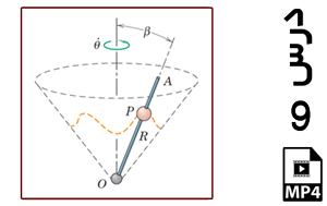 محاسبه اندازه شتاب یک نوسانگر دورانی-MP4