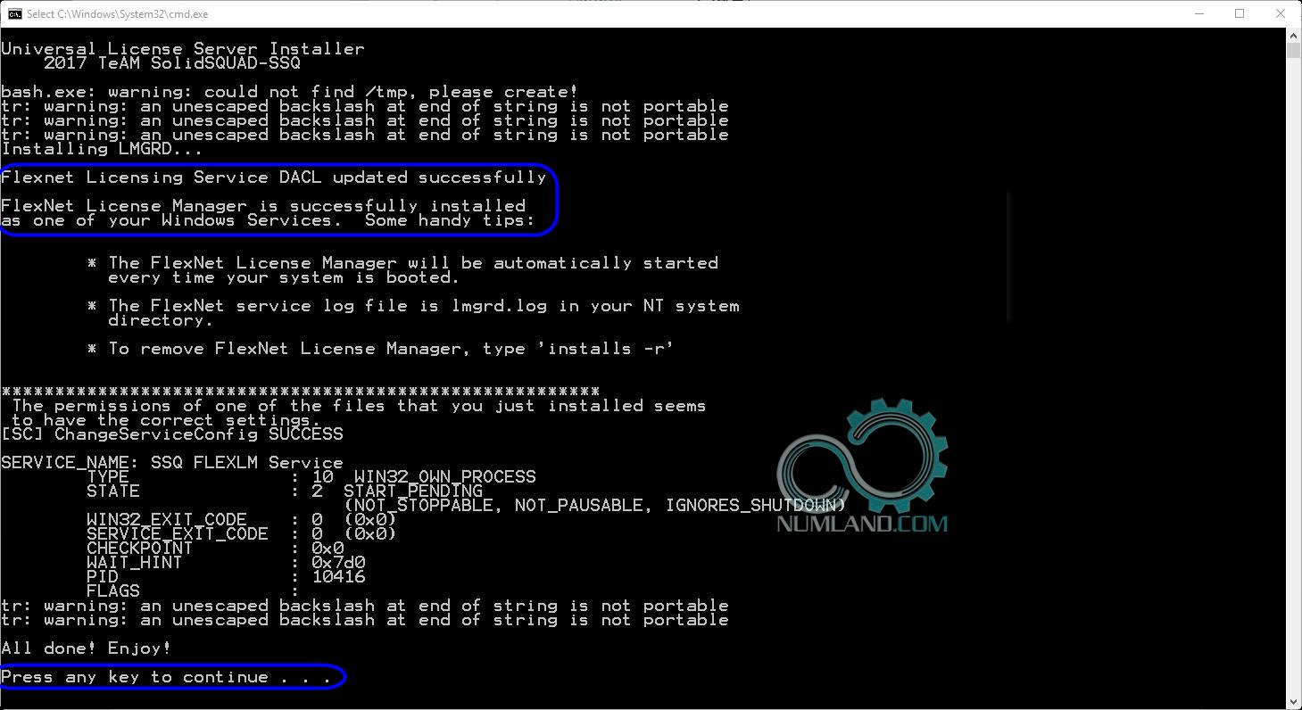 نصب درست Flexnet Licensing Service در نصب آباکوس 2019