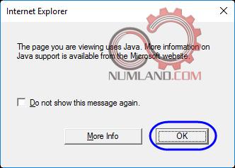 قدم 65 نصب آباکوس 2019 - پیغام خطای نخواندن محتویات نوشته شده با Java