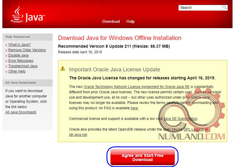 دانلودن Java برای باز شدن کامل Abaqus Documentation