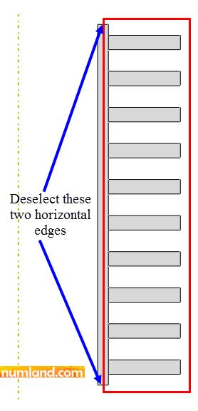 ناحیه موردنظر برای درگ موس