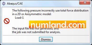 خطای استفاده از گزینه Total Flux در هنگام تحلیل