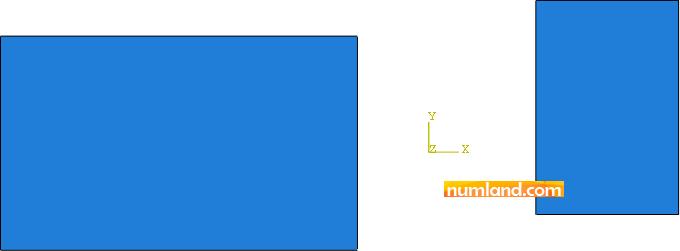 قرارگیری دو قطعه نسبت به هم در محیط مونتاژ