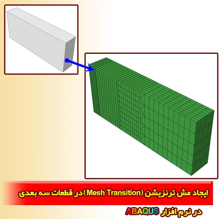 ایجاد مش ترنزیشن (Mesh Transition) در قطعات سه بعدی