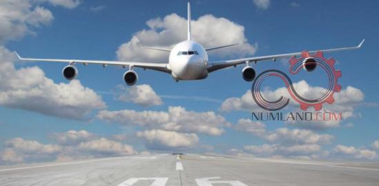نمونه مسائل صنعت هوا فضا