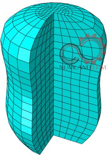 گسسته سازی حجم سه بعدی