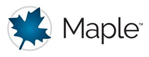 لوگوی نرم افزار Maple