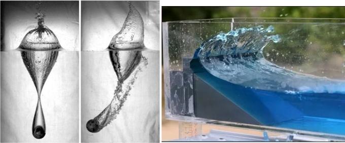 مثالهایی از مسائل در دیدگاه اویلری (تلاطم آب در مخزن و نفوذ گلوله در آب)