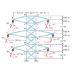 Analysis of a transmission tower